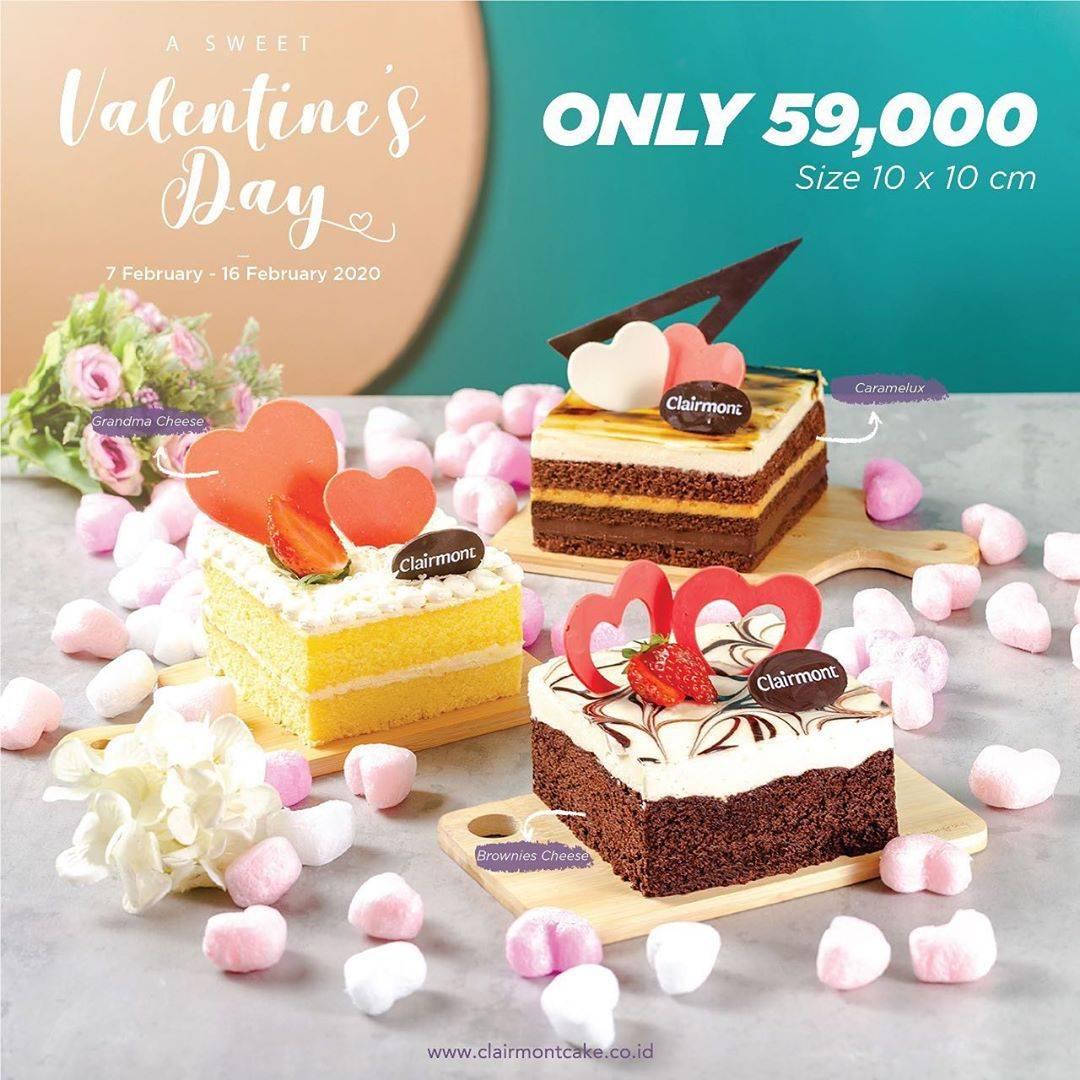 Diskon Clairmont Patisserie Promo Harga Spesial Cake Pilihan Hanya Rp. 59.000