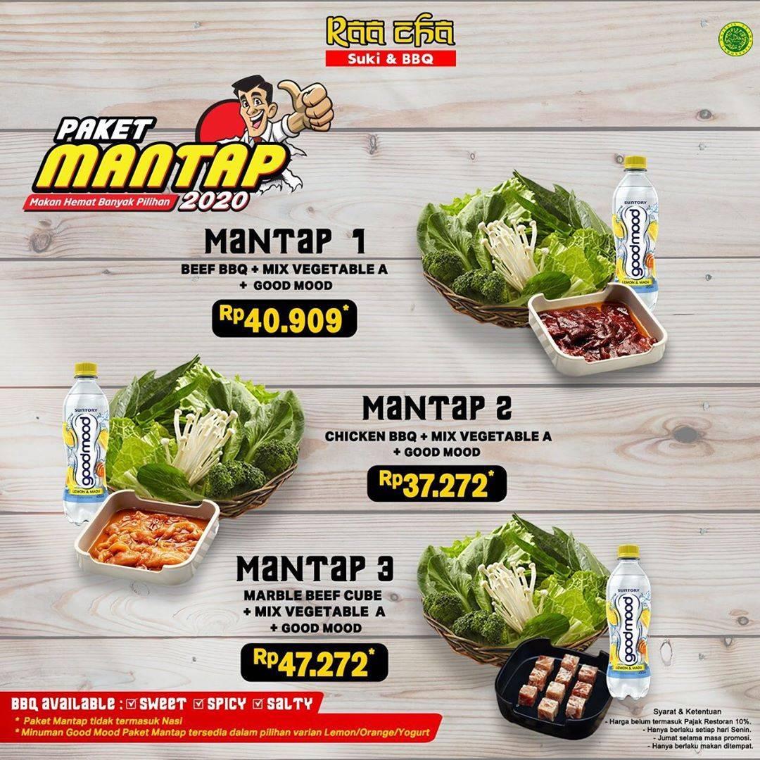 Raa Cha Suki & BBQ Promo Harga Spesial Paket Mantap Mulai Dari Rp. 37.727