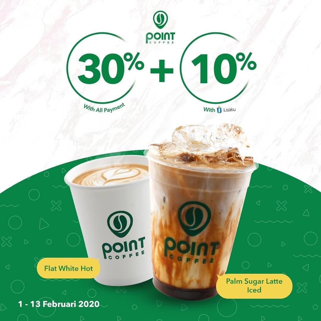 Diskon Indomaret Point Promo Diskon 30% Semua Pembayaran Dan 10% Menggunakan i.Saku Untuk Minuman Pilihan