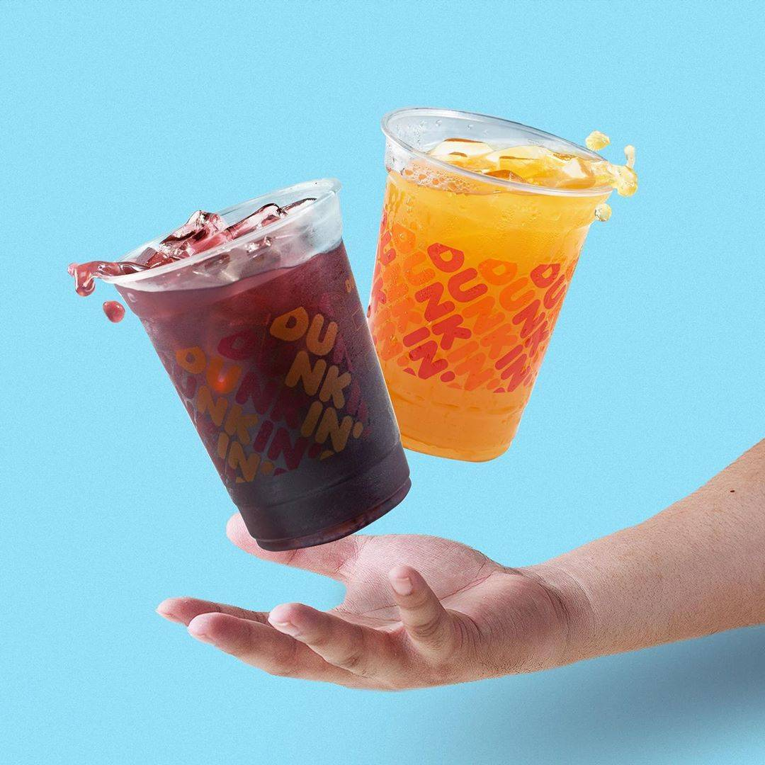 Dunkin Donuts Promo Pay 1 For 2 Minuman Transaksi Menggunakan Kartu Kredit BCA / Kartu Debit BCA / F