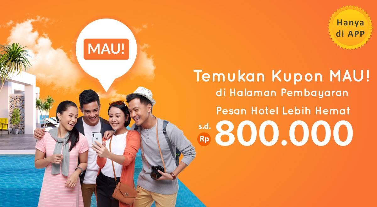 Pegi Pegi Promo Hemat Hingga Rp. 800.000 Setiap Pemesanan Hotel Via Aplikasi Pegi Pegi