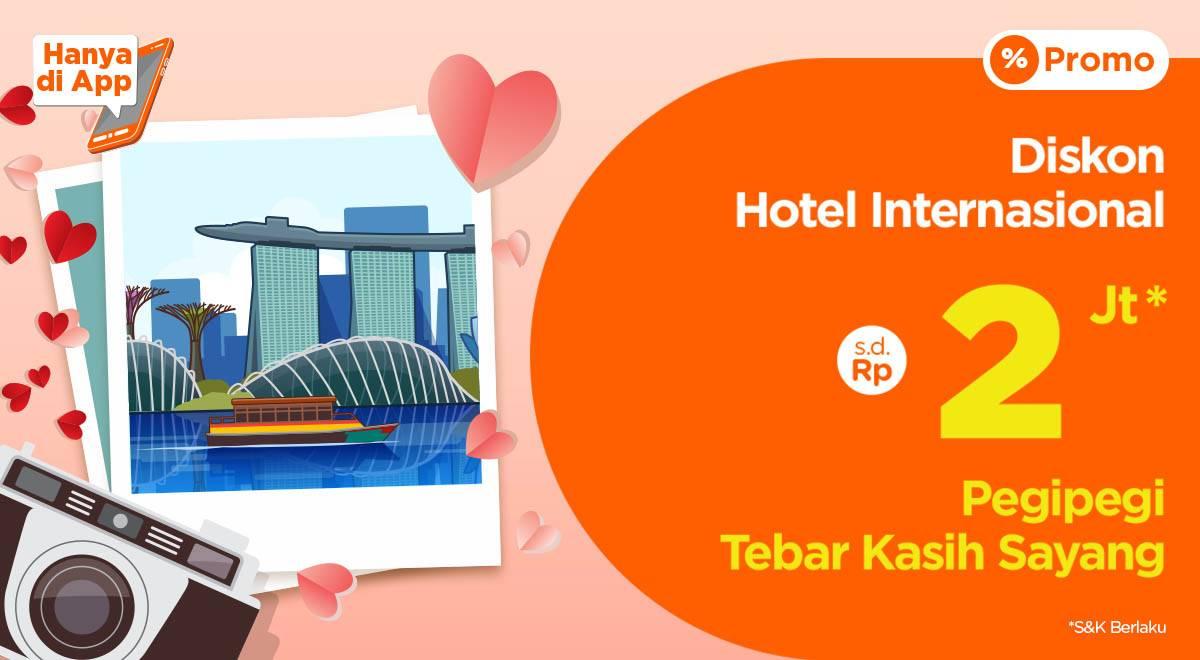 Diskon Pegi Pegi Promo Diskon Hingga Rp. 2.000.000 Setiap Pemesanan Hotel Internasional Via Aplikasi Pegi P