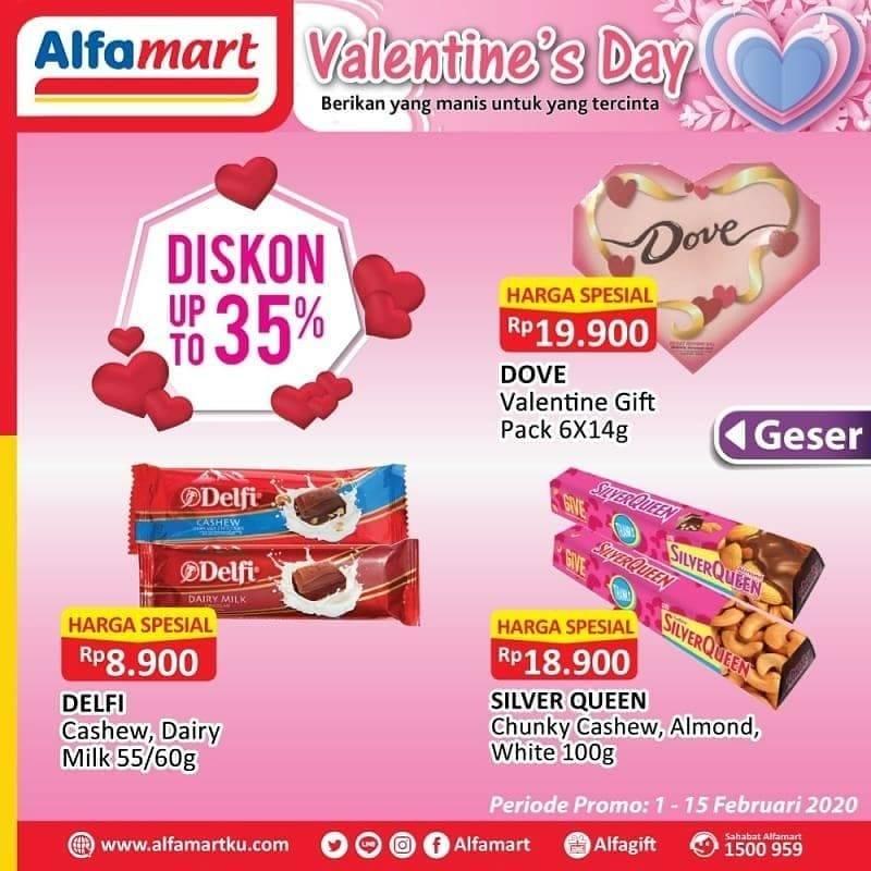 Alfamart Promo Diskon 35% Untuk Produk Cokelat Pilihan