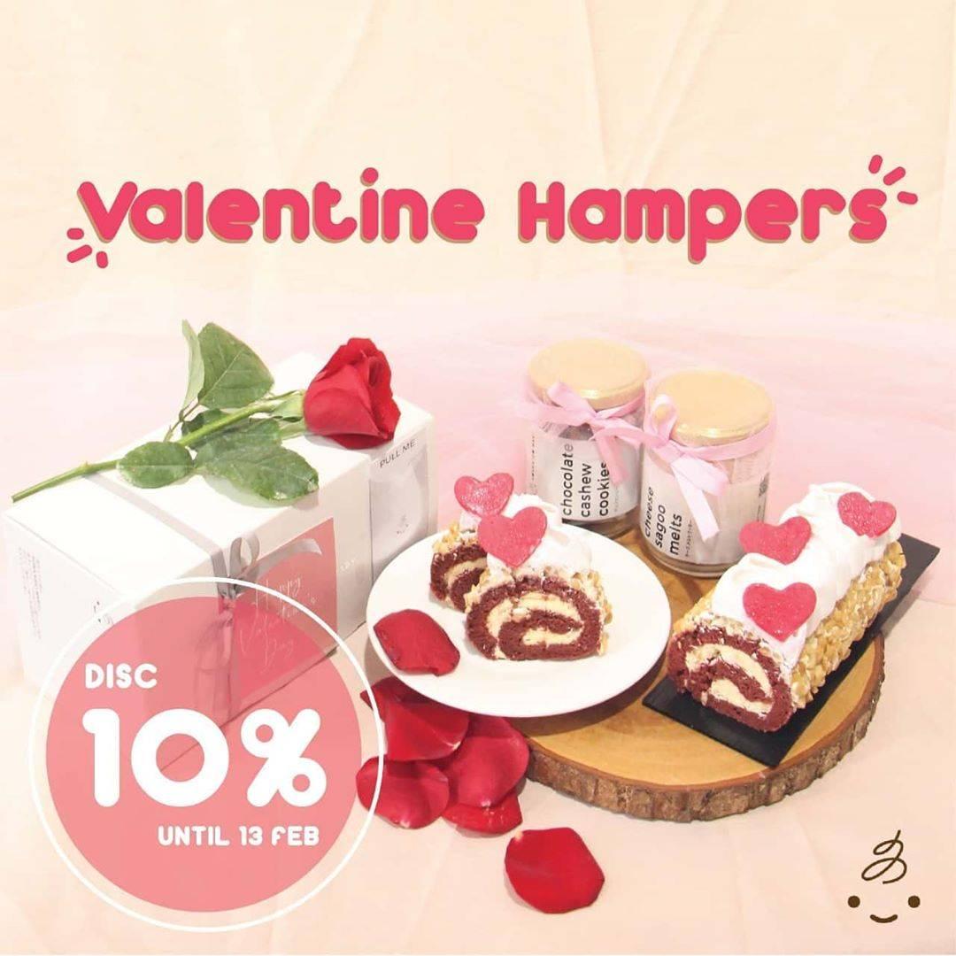 Hokkaido Baby Promo Valentine Hampers, Dapatkan Diskon 10% Untuk Menu Hampers