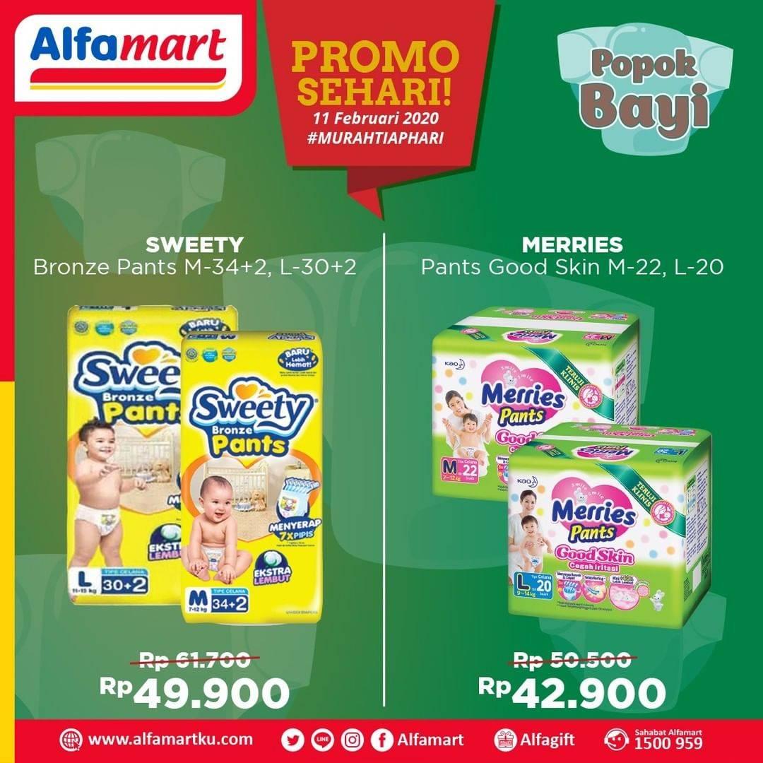 Alfamart Promo Sehari, Harga Spesial Produk Popok Bayi Pilihan Mulai Dari Rp. 42.900