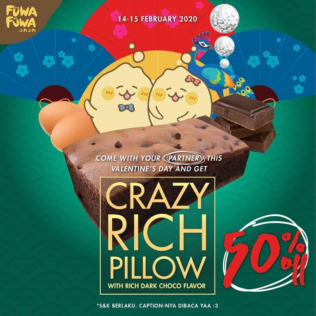 Fuwa Fuwa Promo Diskon 50% Untuk Dark Choco Pillow Cake