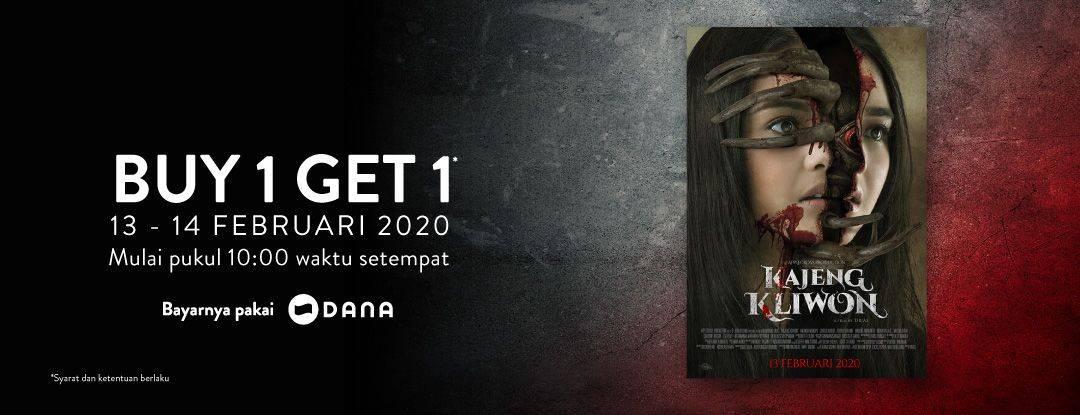TIX ID Promo Buy 1 Get 1 Khusus Pembelian Tiket Film Kajeng Kliwon