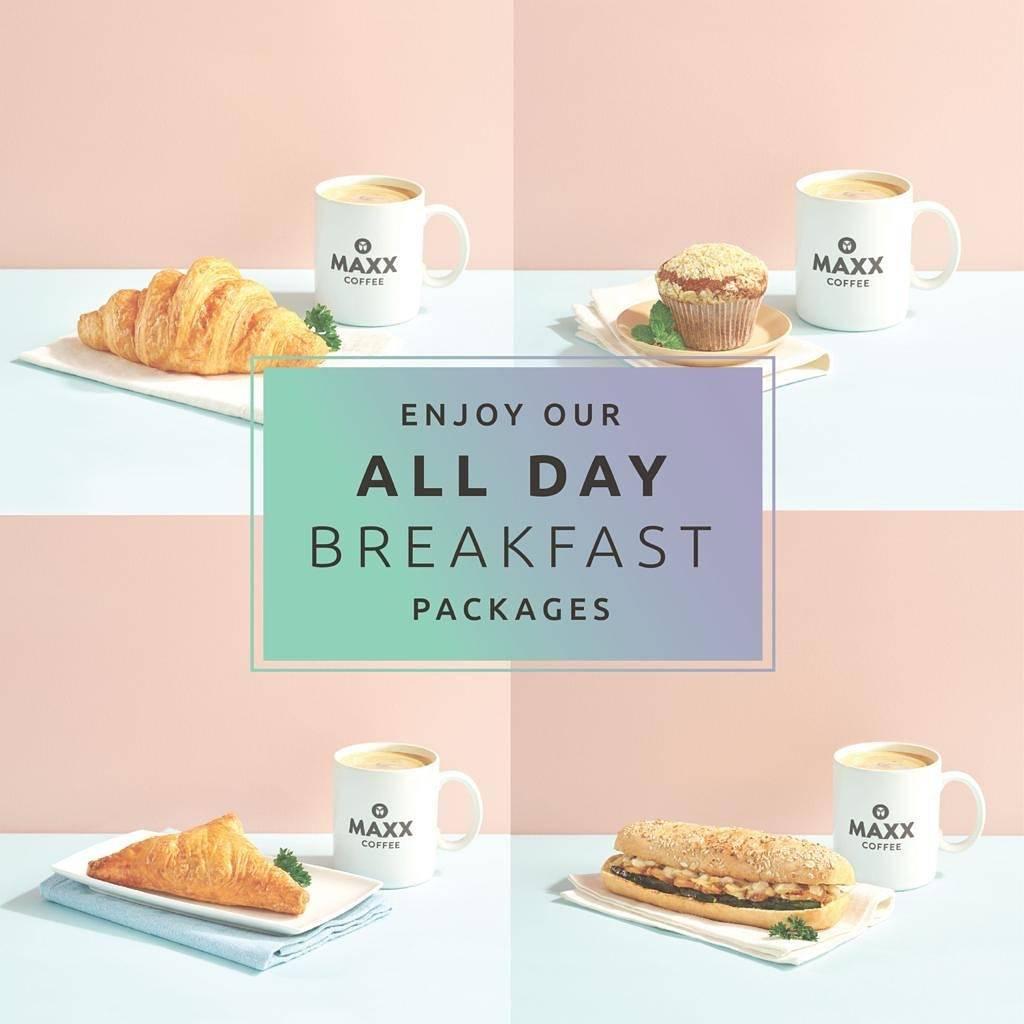 Maxx Coffee Promo Harga Spesial Menu Breakfast Packages Mulai Dari Rp. 35.000