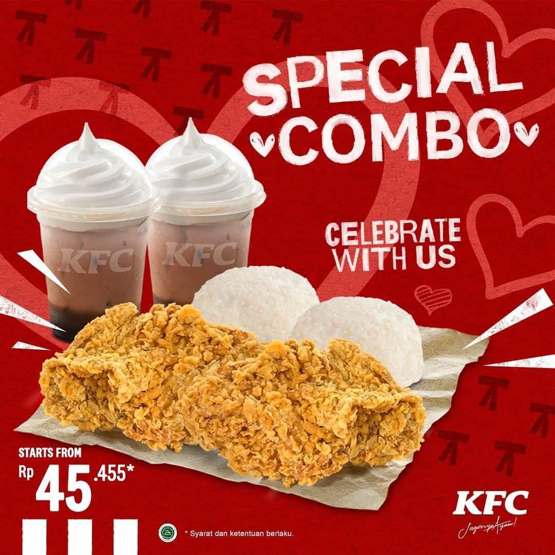 Diskon KFC Promo Special Combo KFC Dengan Harga Spesial Hanya Rp. 45.455
