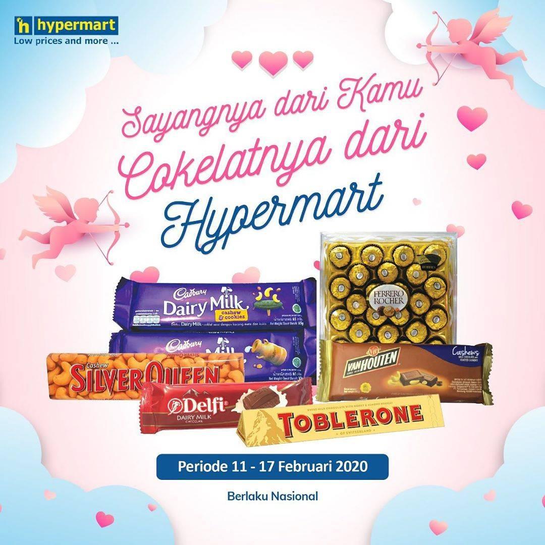 Hypermart Promo Spesial Produk Cokelat Mulai Dari Beli 1 Gratis 1 Sampai Diskon 35%