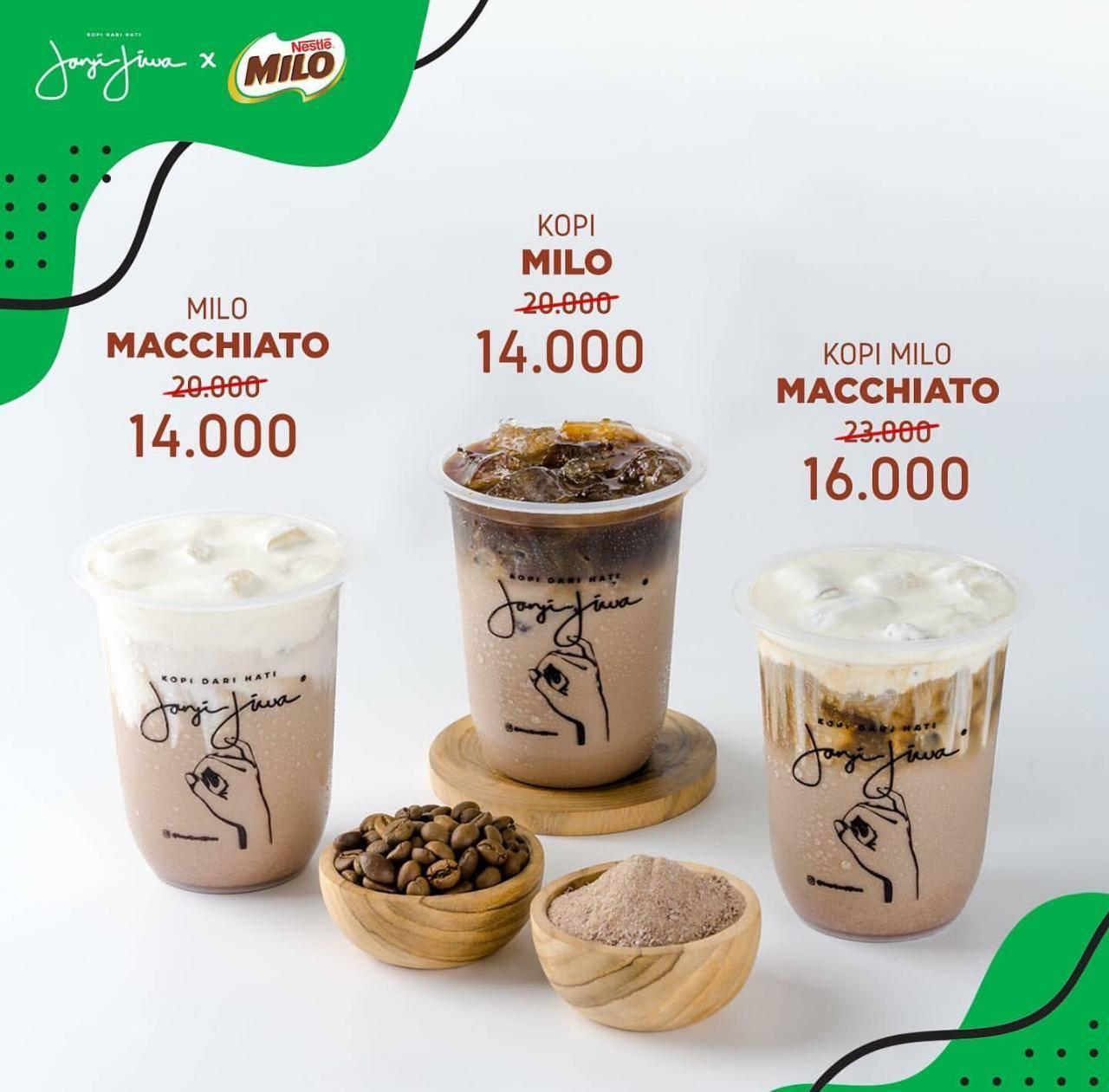 Diskon Janji Jiwa Promo Harga Hemat Spesial Menu Baru Milo Series Mulai Dari Rp. 14.000