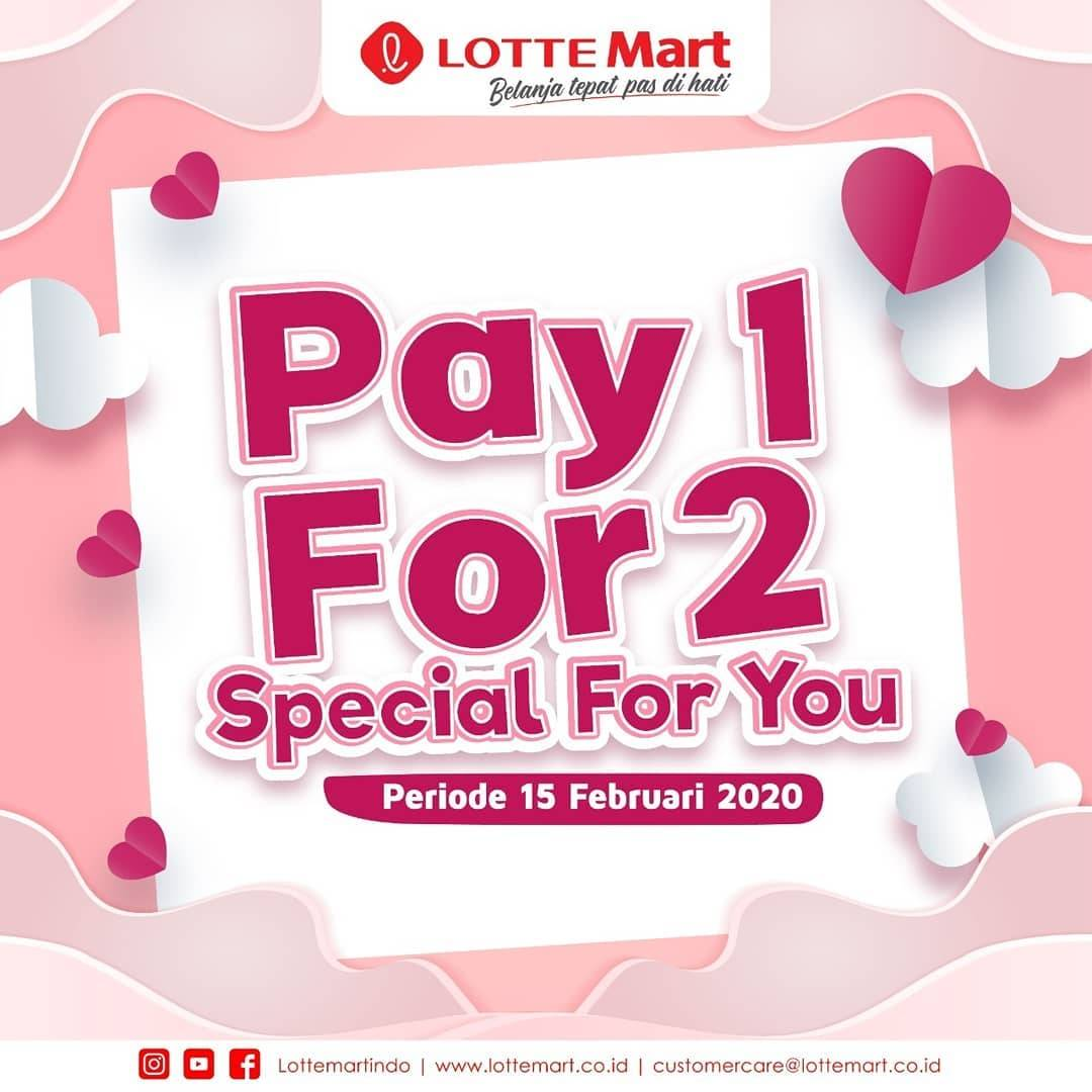 Diskon LotteMart Promo Pay 1 For 2