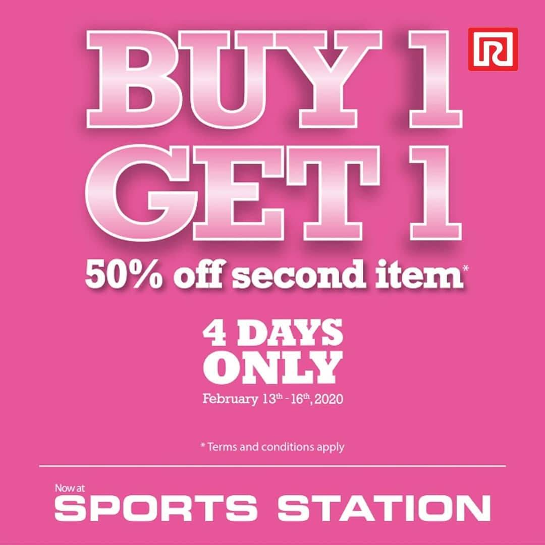 Sport Station Ramayana Promo Buy 1 Get 1 Dan Diskon 50% Untuk Pembelian Barang Kedua Pilihan