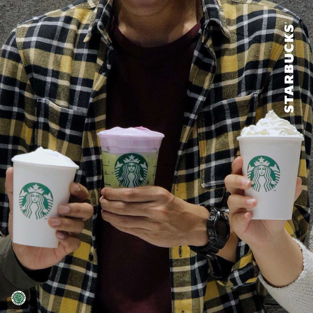 Starbucks Promo Beli 2 Gratis 1 Transaksi Menggunakan Kartu Kredit/Kartu Debit/ Flazz/Sakuku BCA