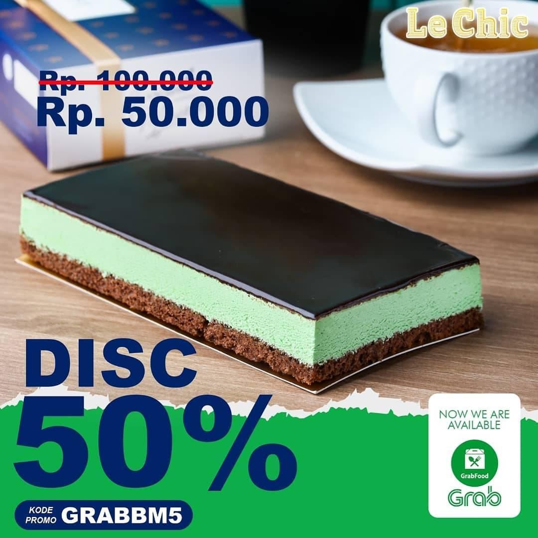 Le Chic Parfait Promo Diskon 50% Untuk Kue Le Chic Bake Pembelian Menggunakan Grabfood