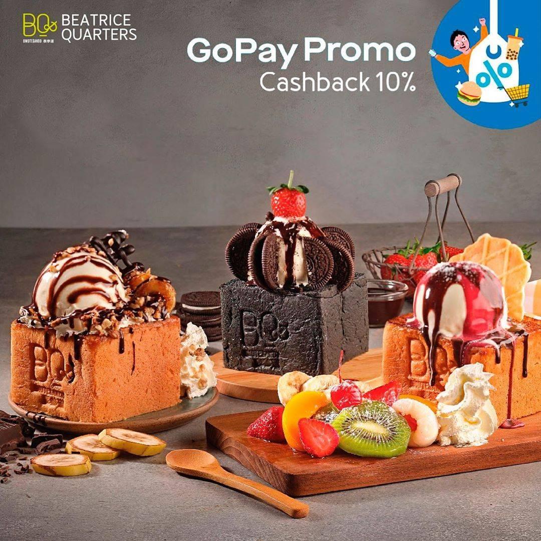 Beatrice Quarters Promo Cashback 10% Pembayaran Menggunakan Gopay