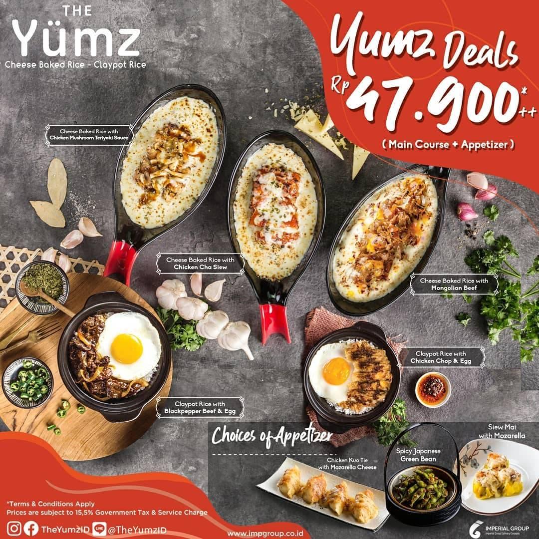 The Yumz Promo Yumz Deals Dengan Harga Rp. 47.900++