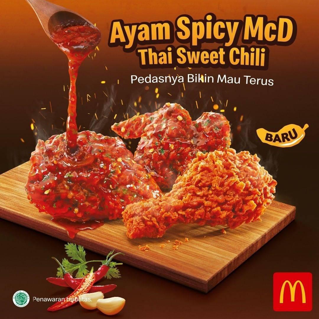 McDonalds Promo Ayam Thai Sweet Chili Dengan Harga Mulai Dari Rp. 36.500