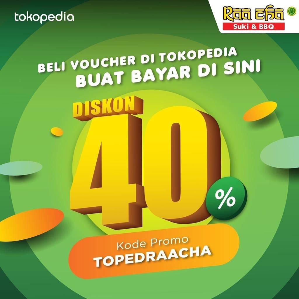 Raa Cha Suki & BBQ Promo Beli Voucher Diskon Hingga 40% Di Tokopedia