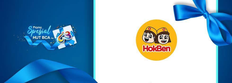 Diskon Hokben Promo Diskon 63% Transaksi Melalui BCA Mobile / Sakuku
