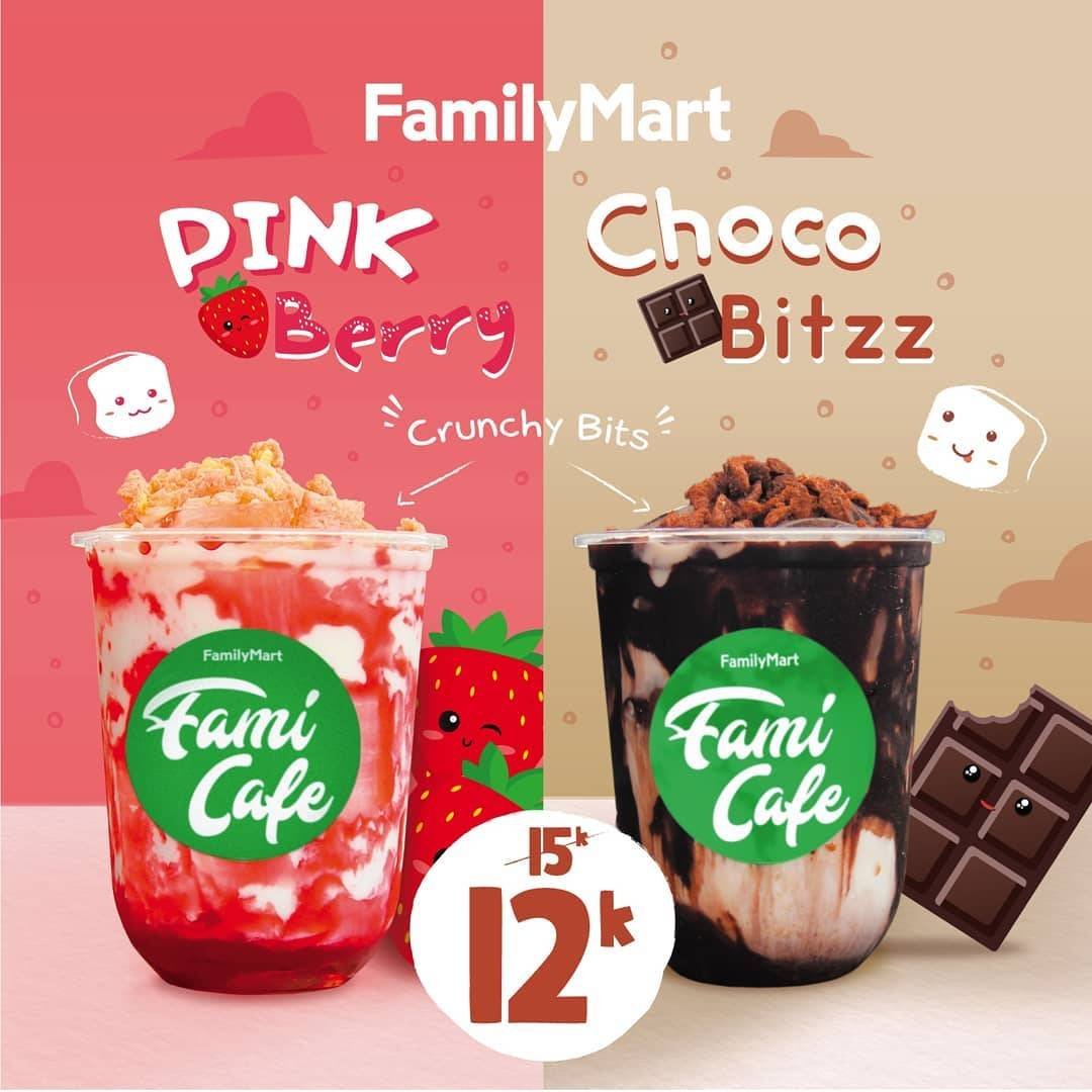 Family Mart Promo Minuman Chocobitz & Pink Berry Dengan Harga Mulai Dari Rp. 12.000