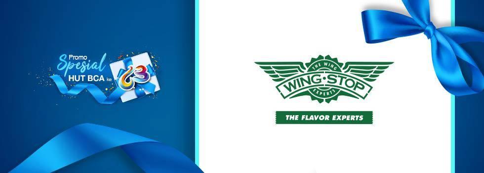 Wingstop Promo Menu Spesial Dengan Harga Rp. 63.000 Untuk Pembayaran Menggunakan Kartu Kredit BCA, M