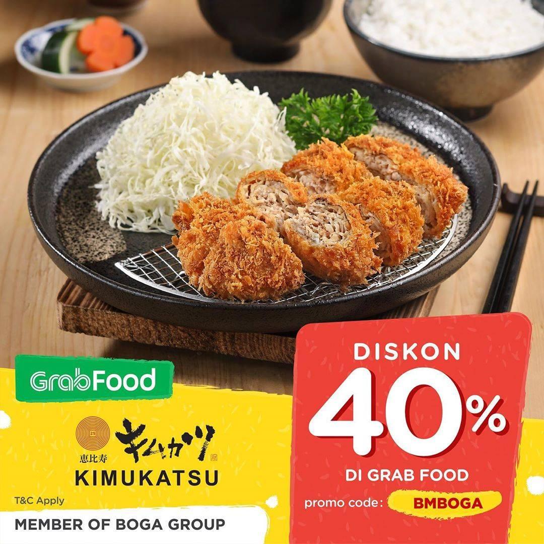 Kimukatsu Promo Diskon 40% Pembelian Melalui Grabfood