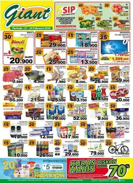 Giant Promo Katalog Periode 21-24 Februari