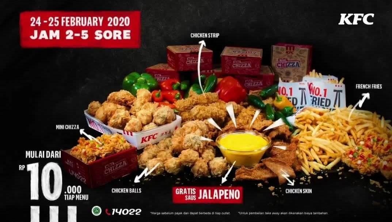 Diskon KFC Promo Harga Special Menu Pilihan Mulai Dari Rp. 10.000