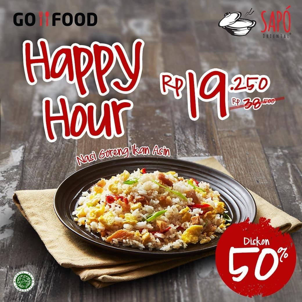 Sapo Oriental Promo Diskon 50% Untuk Menu Pilihan Pembelian Melalui Gofood