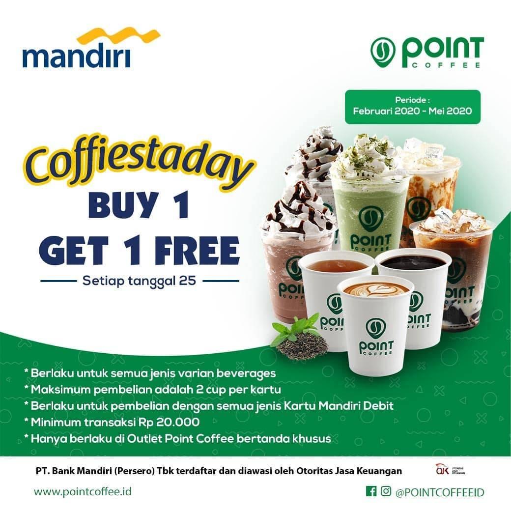 Indomaret Point Promo Buy 1 Get 1 Free Transaksi Menggunakan Kartu Debit Mandiri
