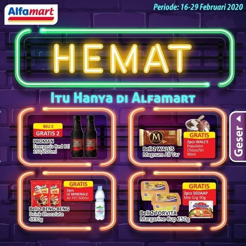 Diskon Katalog Promo Hemat Alfamart Periode 16 - 29 Februari 2020
