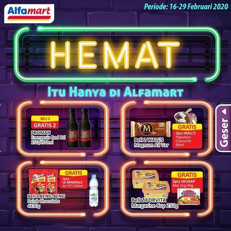 Katalog Promo Hemat Alfamart Periode 16 - 29 Februari 2020