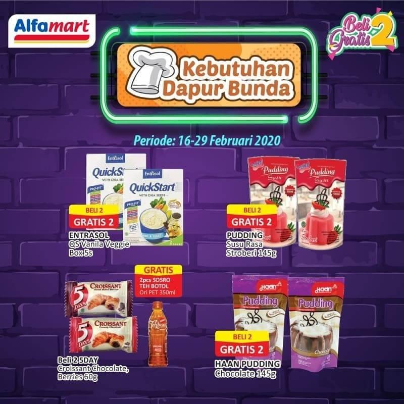 Promo diskon Katalog Promo Hemat Alfamart Periode 16 - 29 Februari 2020