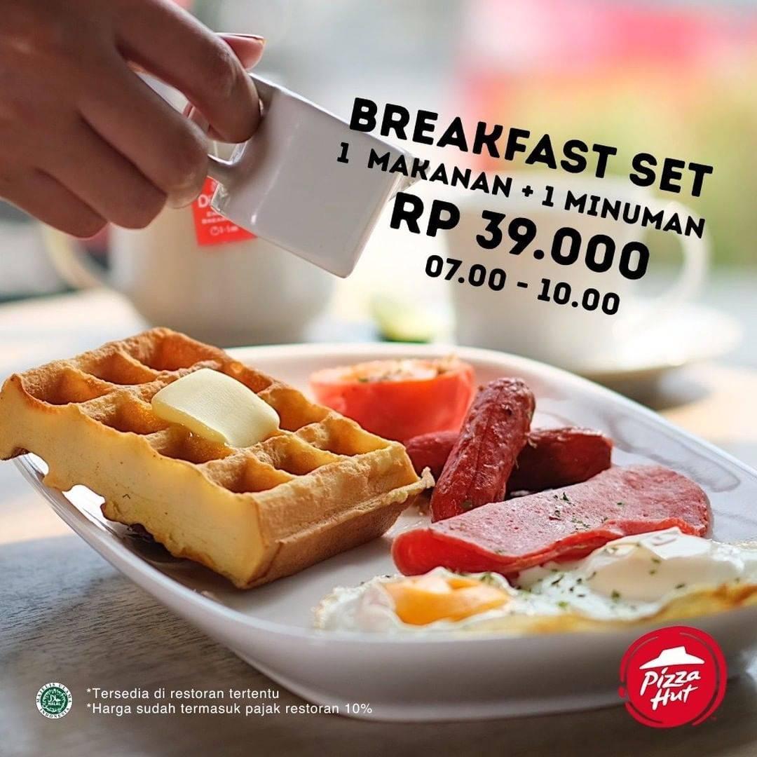 Pizza Hut Promo Paket Breakfast Cuma Rp. 39.000