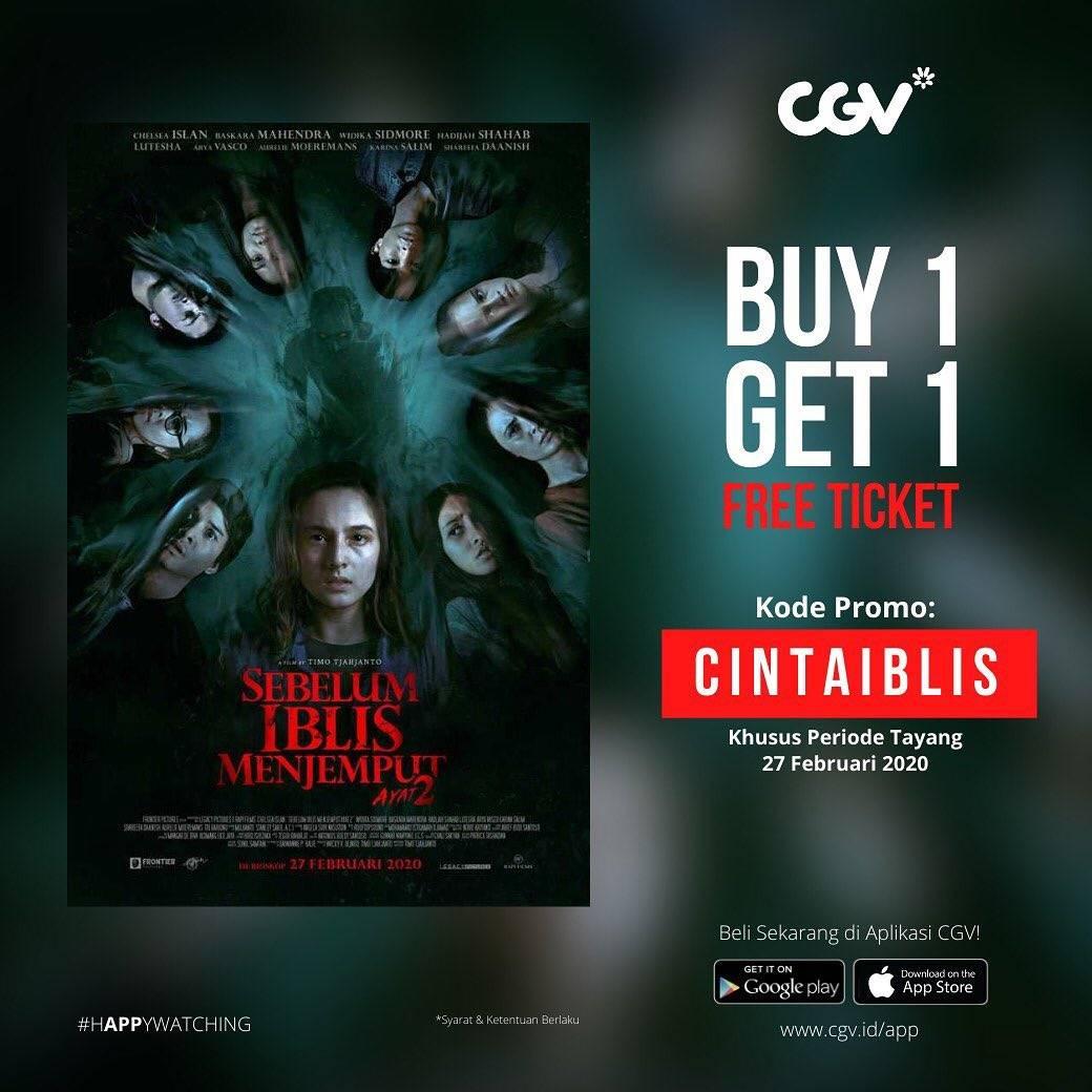 CGV Promo Beli 1 Gratis 1 Untuk Film Sebelum Iblis Menjemput Ayat 2