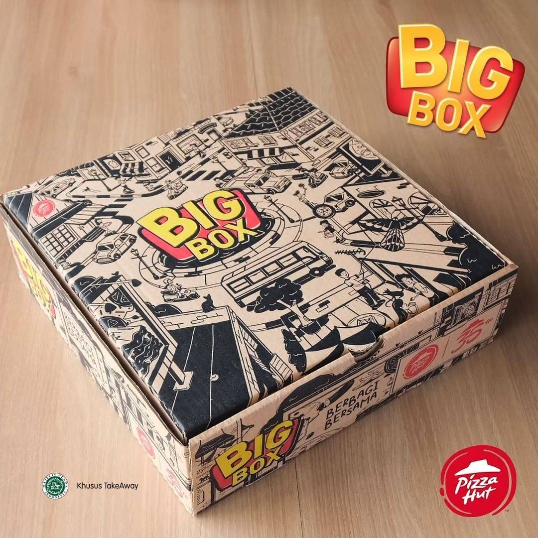Pizza Hut Promo Harga Spesial Big Box Cuma Rp. 210.000/Nett