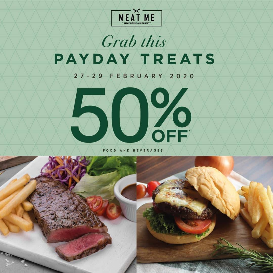 Meat Me Payday Treats! Get Discount 50% Off