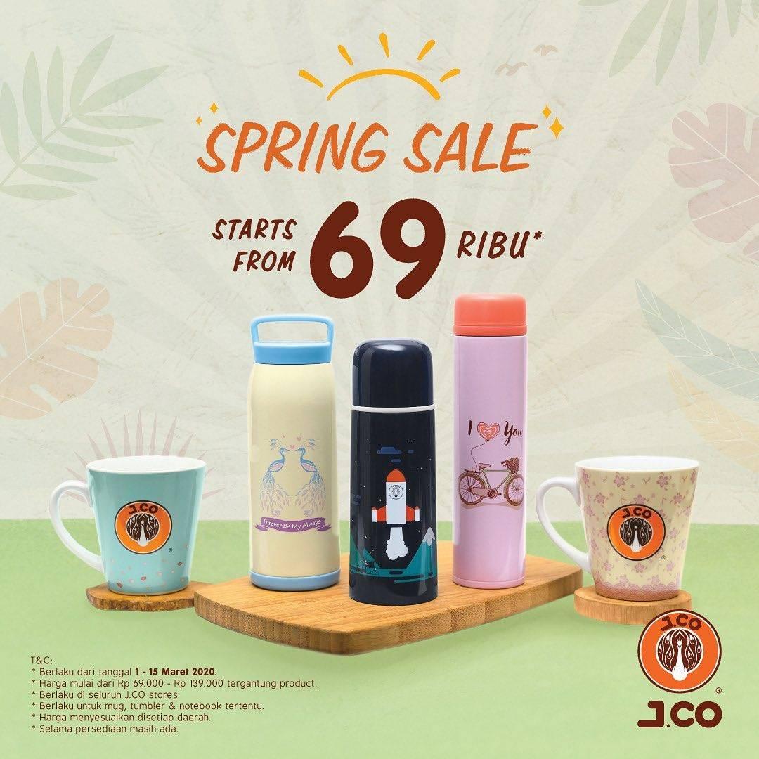 J.CO Promo Harga Spesial Merchandise Mulai Dari Rp. 69.000