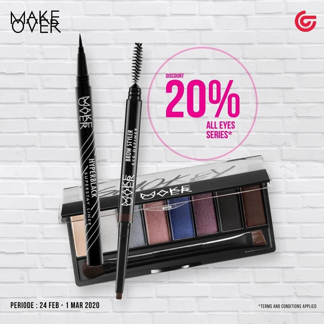 Matahari Promo Disjon 20% Untuk Produk Make Up Mata Makeover