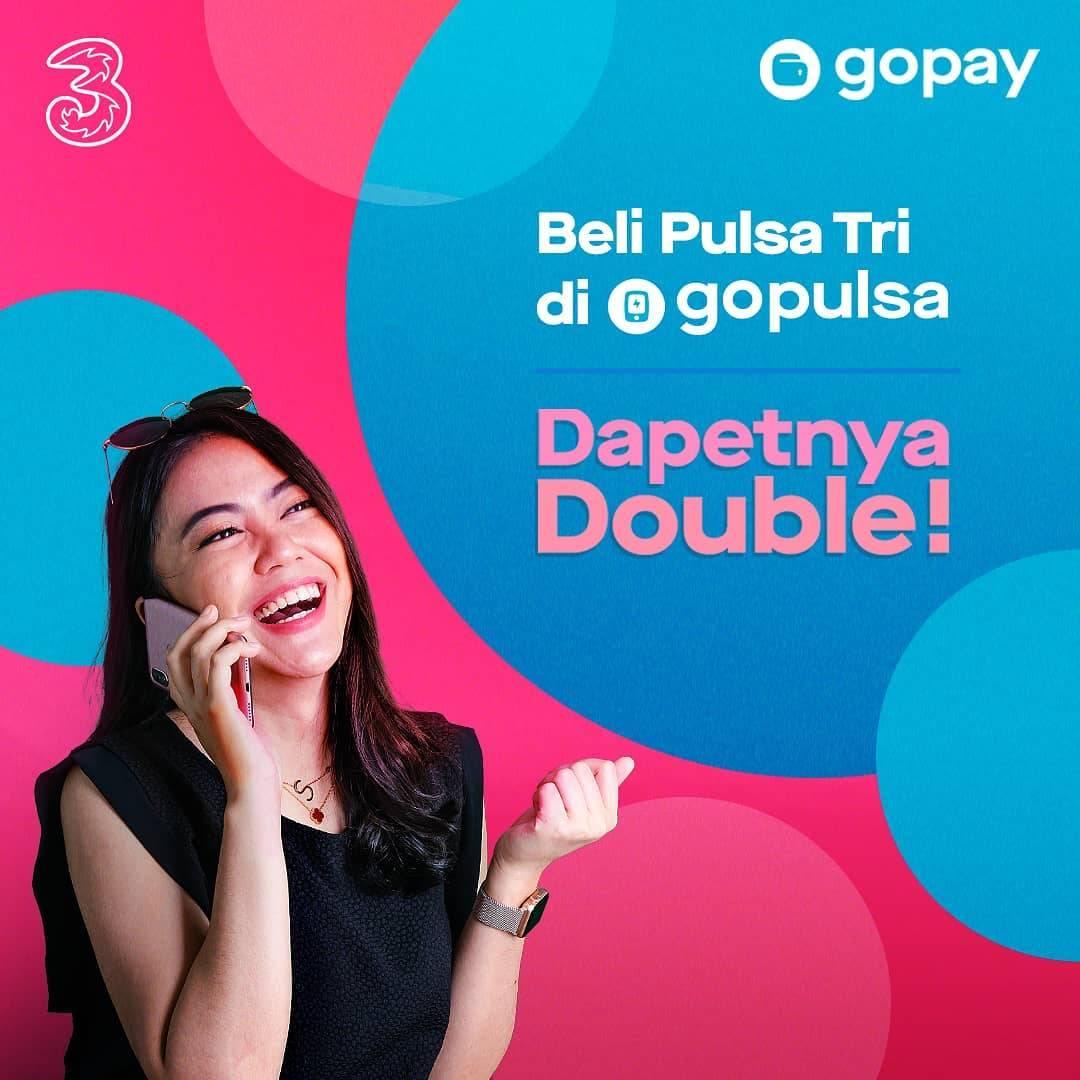 Gopay Promo Double Pulsa 3 Pembelian Melalui Gopulsa