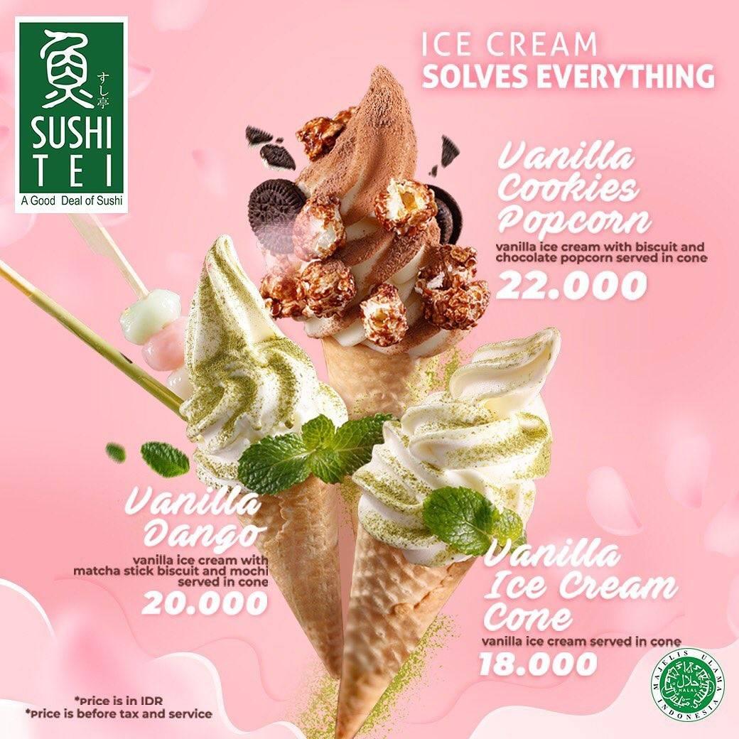 Sushi Tei Promo Ice Cream Varian Baru Dengan Harga Mulai Dari Rp. 18.000