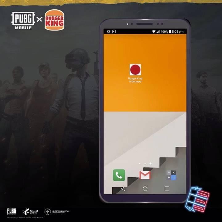 Promo diskon Burger King Free Rugged Orange Gun And BK Parachute