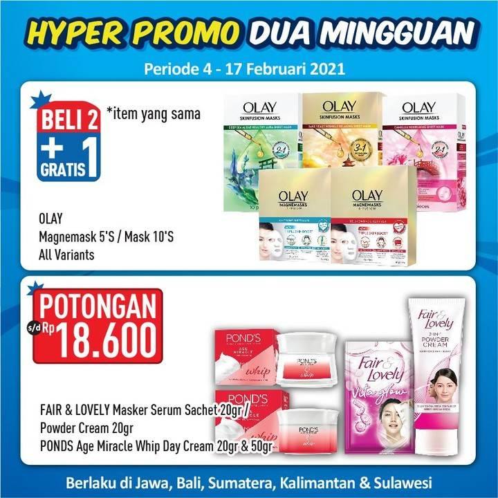 Promo diskon Katalog Hypermart Promo Dua Mingguan Periode 4 - 17 Februari 2021