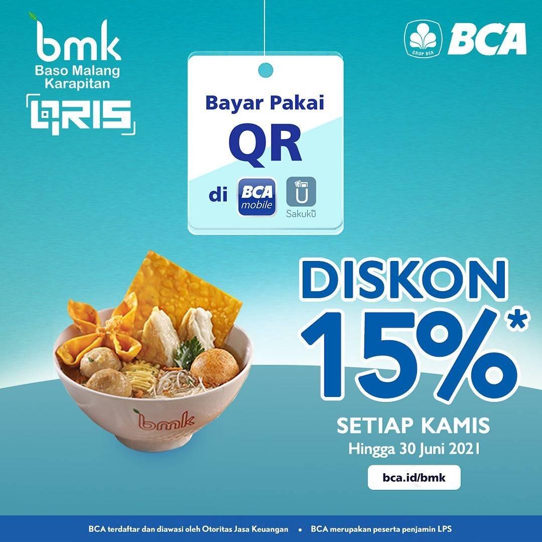 Diskon Baso Mie Kopi Diskon 15% Dengan BCA Mobile & Sakuku