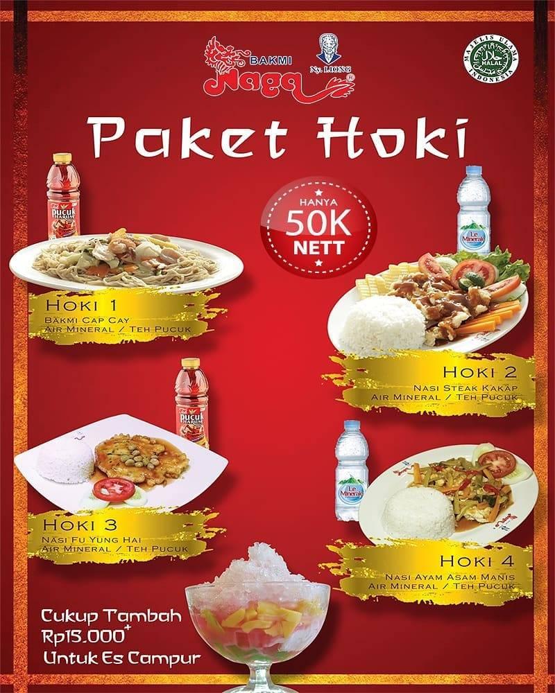 Diskon Bakmi Naga Paket Hoki Hanya Rp. 50.000
