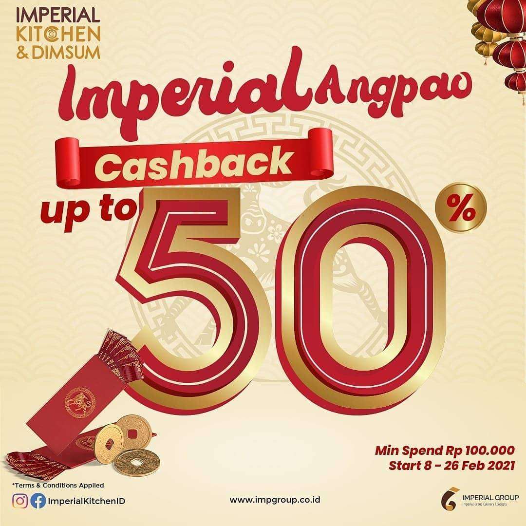 Diskon Imperial Kitchen Imperial Angpao Cashback Up To 50%