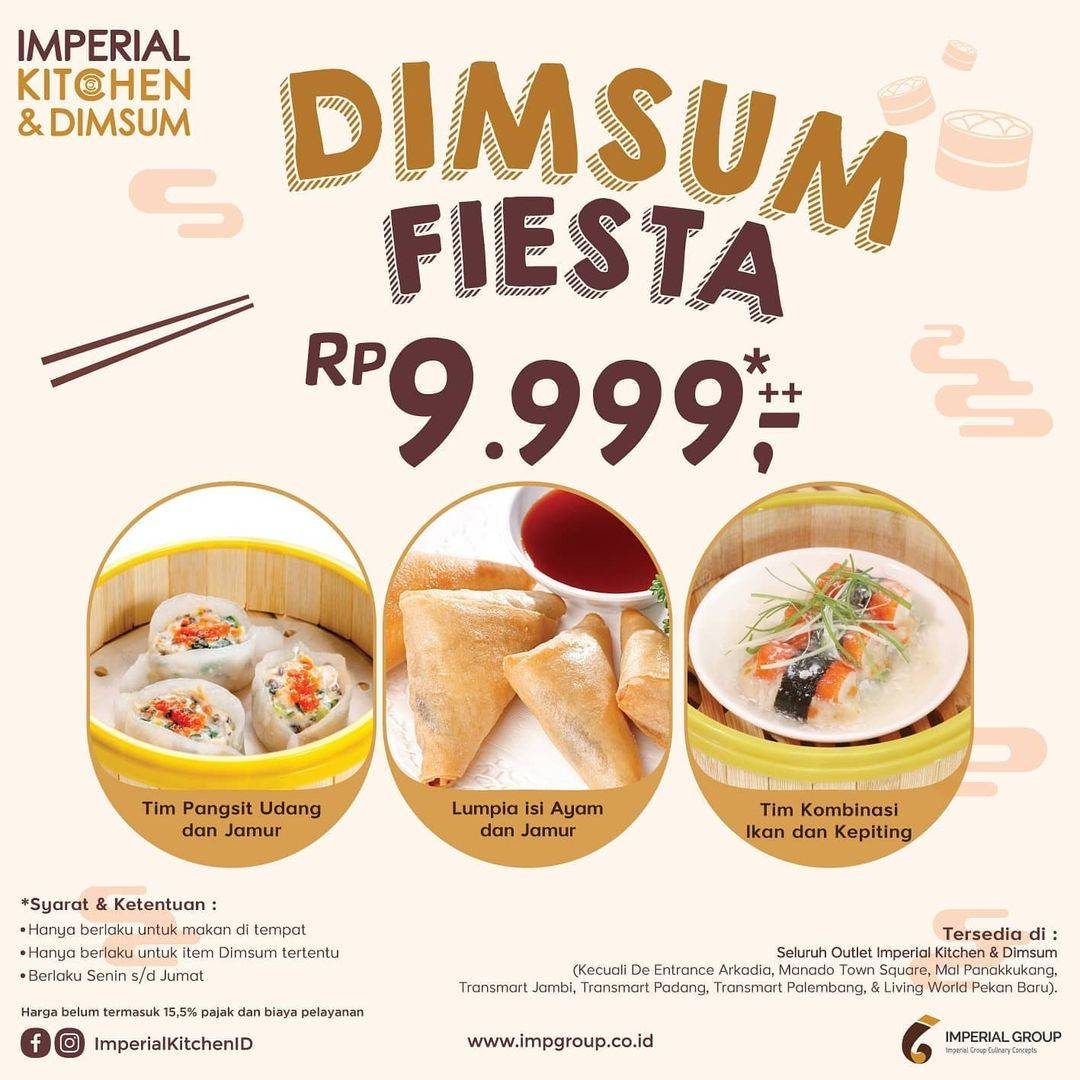 Promo diskon Imperial Kitchen Imperial Angpao Cashback Up To 50%