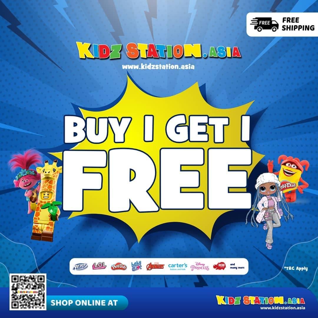 Diskon Kidz Station Buy 1 Get 1 Free Hanya Di Kidzstation.Asia