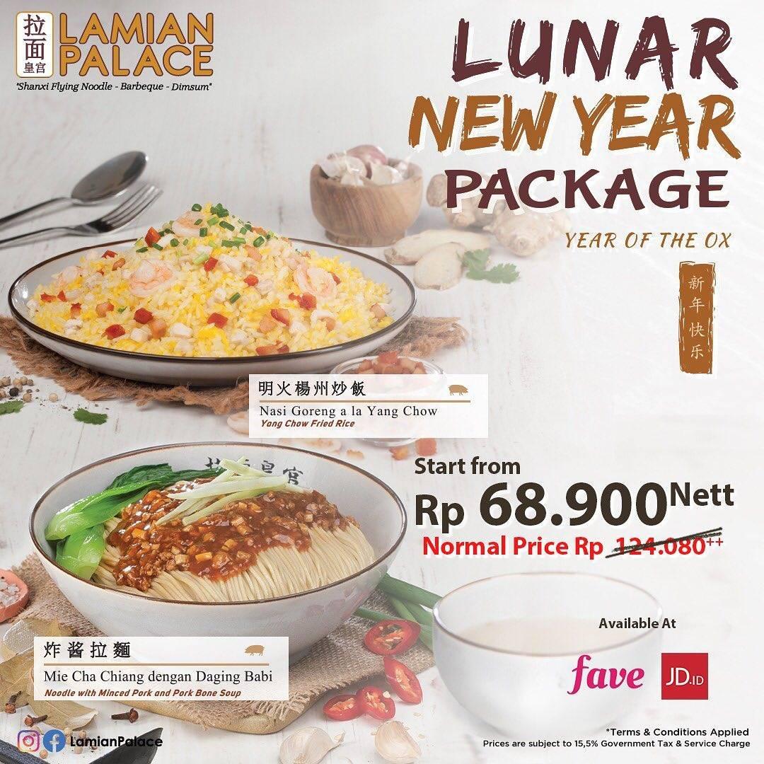 Diskon Lamian Palace Promo Lunar New Year Package Harga Mulai Dari Rp. 68.900